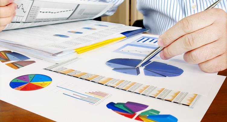 Charts and data analysis